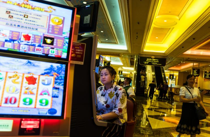 epa06124185 People gamble at the Venetian Casino on Cotai Streep in Macau, 03 August 2017. (issued 04 August) A former Portuguese enclave that was always known as a place of gambling and excess, Macau legalized gambling in 1847. and the only place in China where casinos and gambling are legal.  It is a special administrative region (SAR) of China and is home to the some of the world's most incredible casino resorts. The largest casino in the entire country of Macau is Venetian Casino Resort Macao which is located in Cotai. Venetian Casino Resort Macaohas 800 table games, 33 poker tables, 3,400 gaming and video poker machines. Macau sees over 30 million visitors every year. About two-thirds come from mainland China and about one-fourth come from Hong Kong and Taiwan, with the balance of visits originating elsewhere. When Portugal handed Macau over to the Chinese government in 1999, China allowed gambling to continue.  EPA/ALEKSANDAR PLAVEVSKI